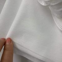 福建泉州批量生产 菱形格无纺布 195宽幅可定制纹路