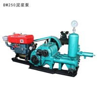 往复注浆泵行程 沙地打井BW450/8三缸泥浆泵配件